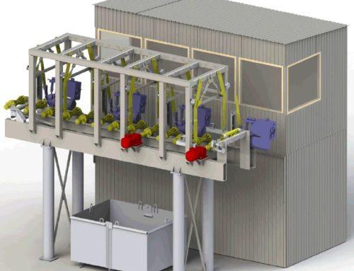 Завод по производству фанеры